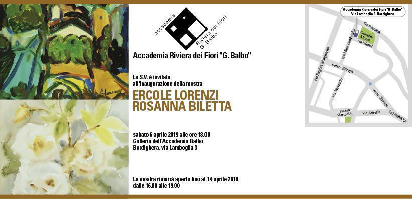Mostra Lorenzi-Biletta 2019